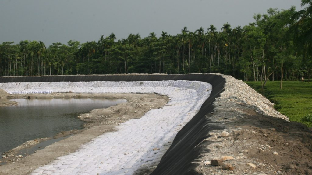 River Bank Erosion By Geosynthetics